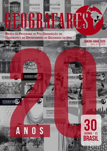 Visualizar v. 1 n. 30 (2020): Revista Geografares numero 30