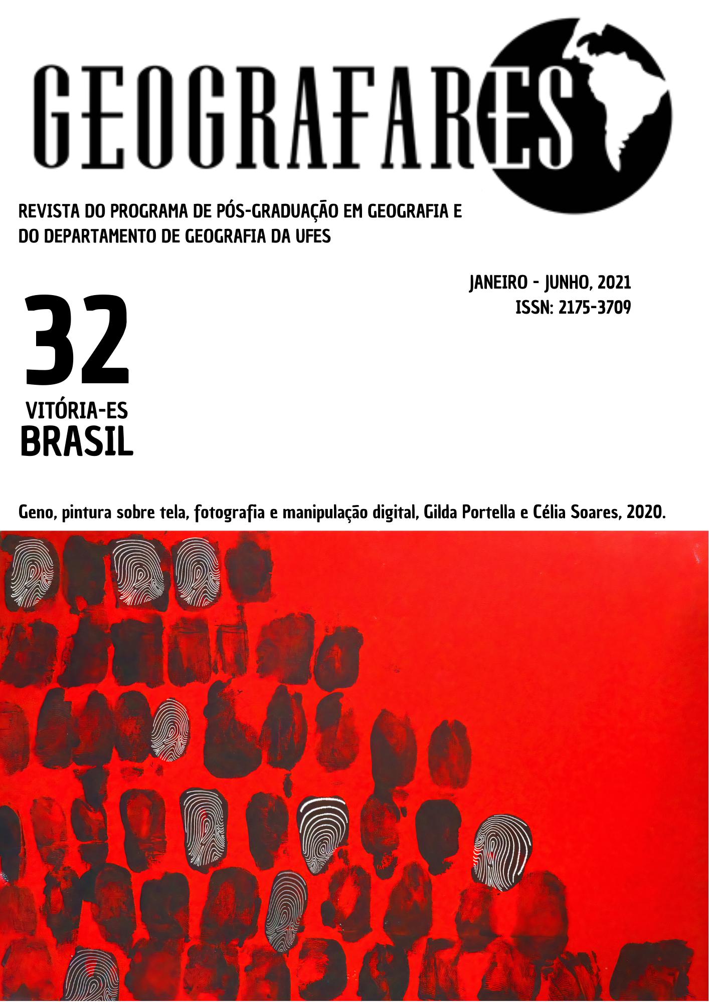 Visualizar v. 1 n. 32 (2021): Revista Geografares