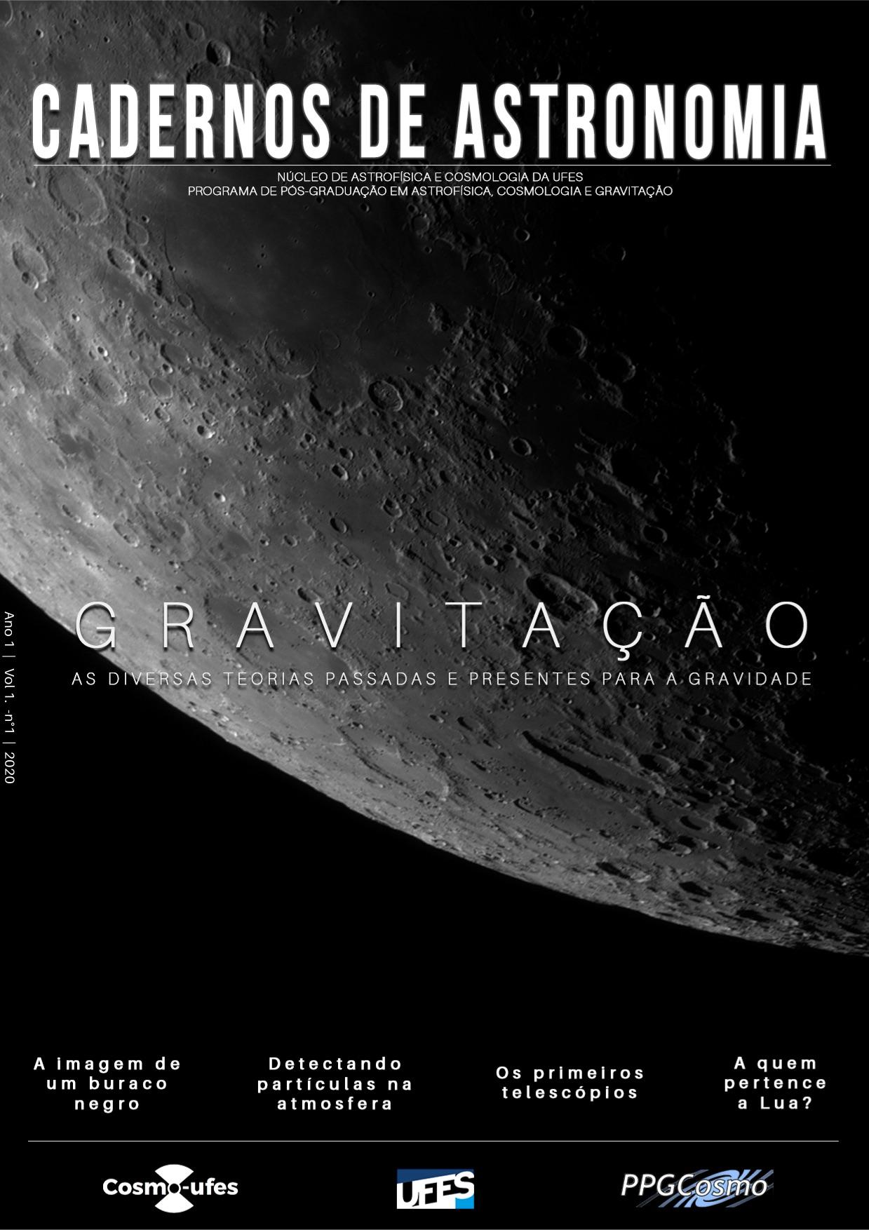 Visualizar v. 1 n. 1 (2020): Gravitação