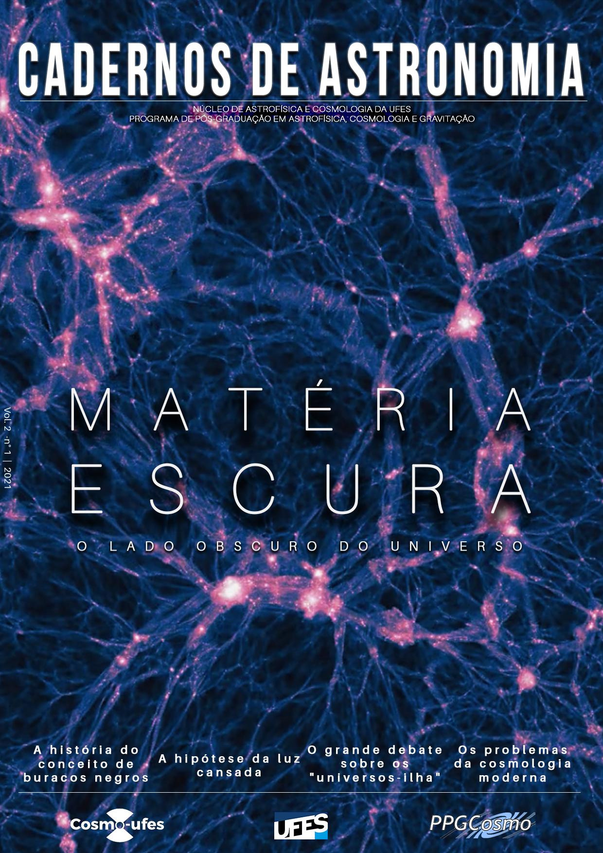 Visualizar v. 2 n. 1 (2021): Matéria Escura