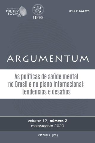Visualizar v. 12 n. 2 (2020): As políticas de saúde mental no Brasil e no plano internacional: tendências e desafios