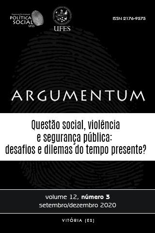 Visualizar v. 12 n. 3 (2020): Questão social, Violência e Segurança Pública: desafios e dilemas do tempo presente?