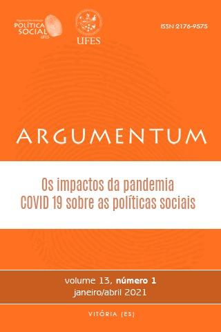 Visualizar v. 13 n. 1 (2021): Os impactos da pandemia COVID-19 sobre as políticas sociais