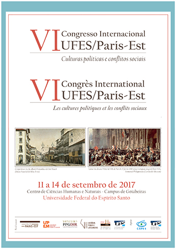 Visualizar Anais do VI Congresso Internacional UFES/Paris-Est
