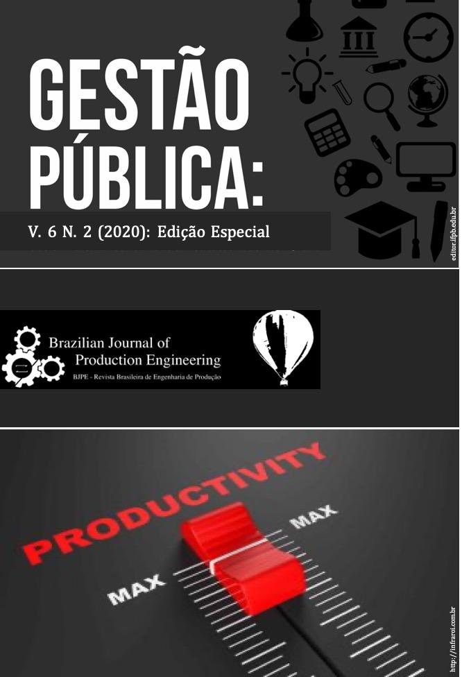 """Visualizar Volume 6 - Número 2 - Ano 2020 - Edição Especial """"Gestão Pública"""" (Julho)"""