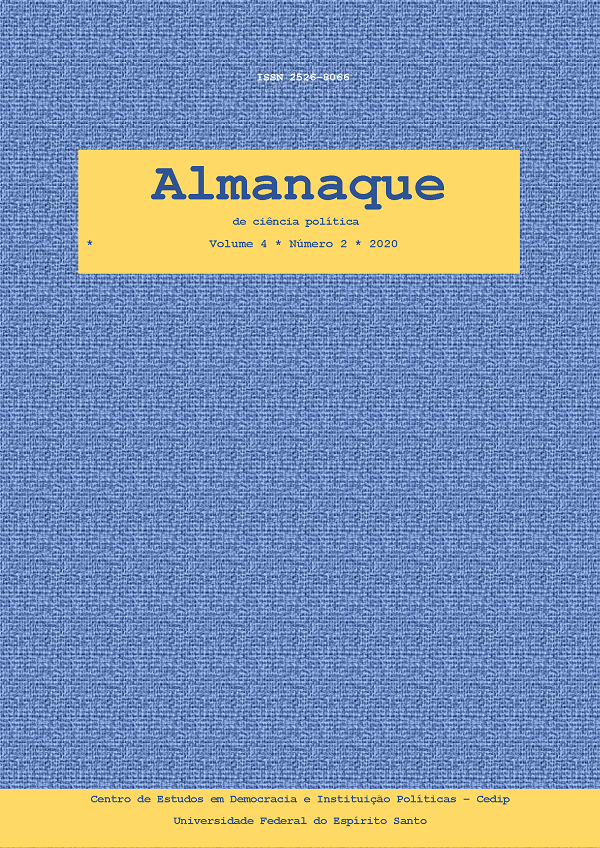 Visualizar v. 4 n. 2 (2020): Almanaque v. 4. n. 2